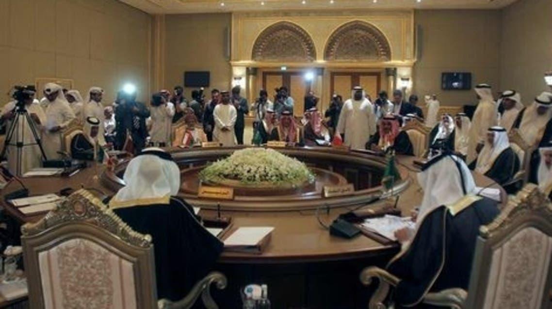 جانب من اجتماع لمجلس التعاون الخليجي