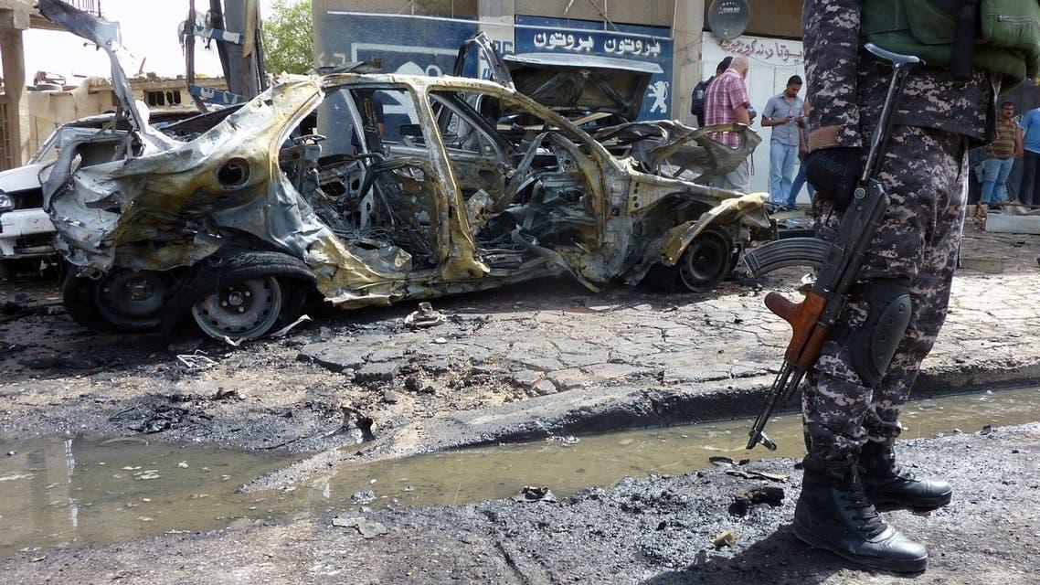 Baghdad-car bomb