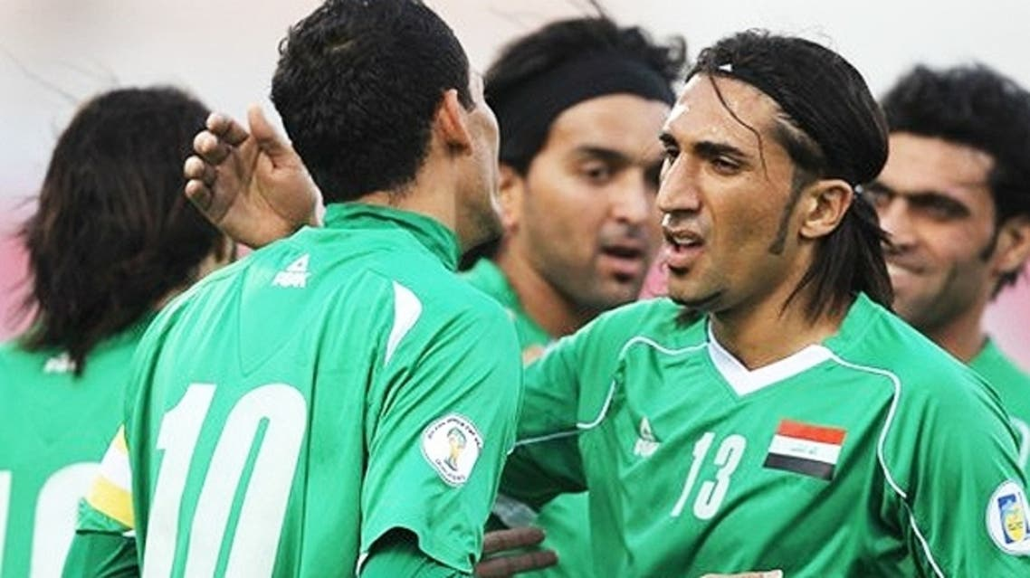 """Iraq held Japan to a 2-2 draw in the Qatari capital 20 years ago in a game that denied the Japanese a place at the 1994 World Cup and was dubbed the """"Agony of Doha"""" by the country's media. (AFP)"""