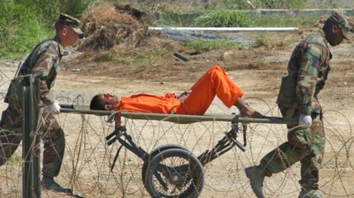معتقل في سجن غوانتنامو