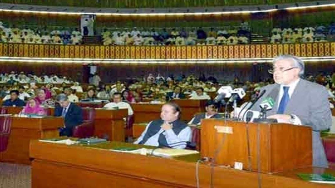 ُPakistan Finance Minister Ishaq Dar