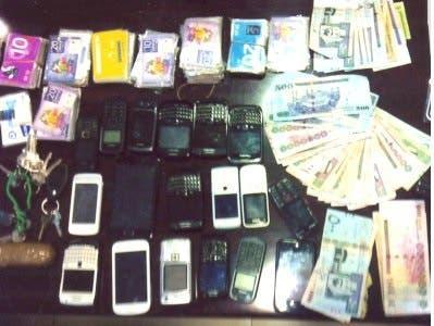 سرقة نقود وموبايلات في السعودية
