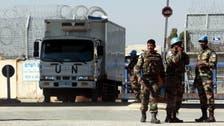 Austrian U.N. peacekeepers begin pullout from Golan Heights