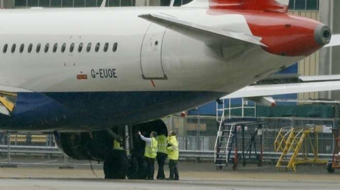 طائرة تتزود بالوقود وقود طائرات