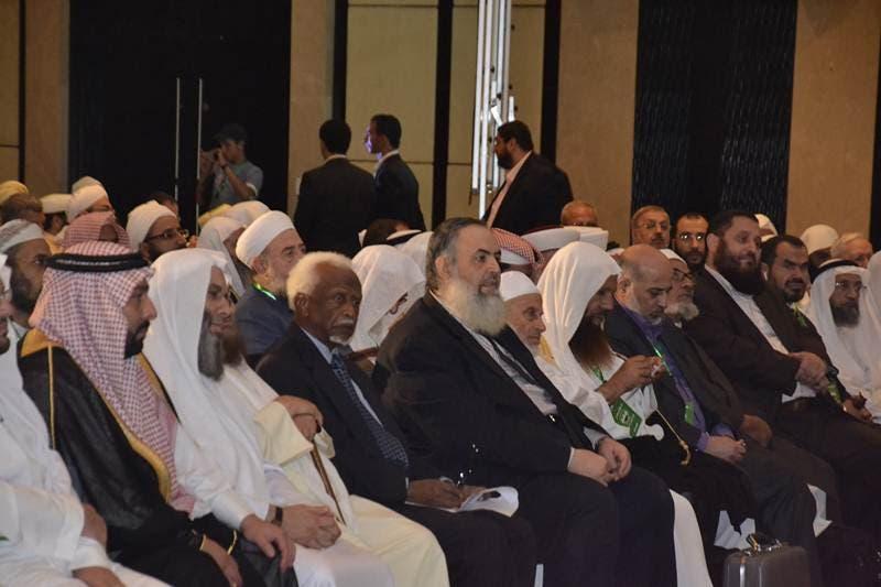 لفيف من العلماء العرب والمسلمين حضروا المؤتمر