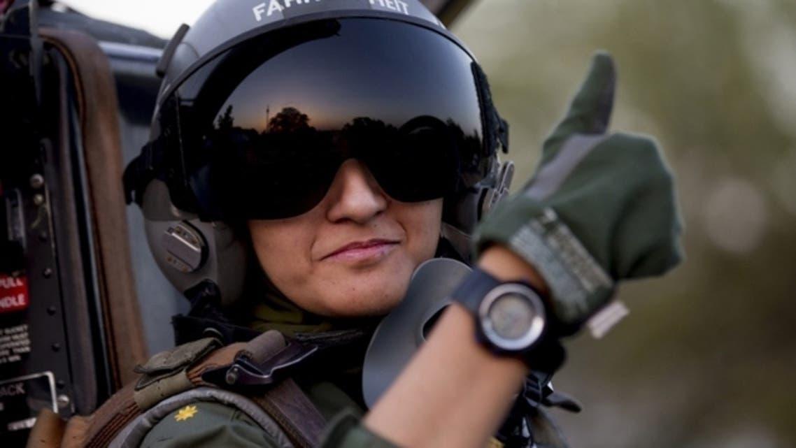 Ayesha Farooq, 26, Pakistan's only female war-ready fighter pilot REUTERS