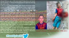 Young FC Barcelona fan killed in Syria, his photo goes viral