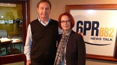 """سؤال """"محرج"""" لرئيسة وزراء أستراليا يوقف مذيعاً عن العمل"""