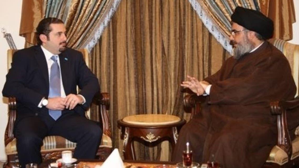 سعد الحريري وحسن نصر الله