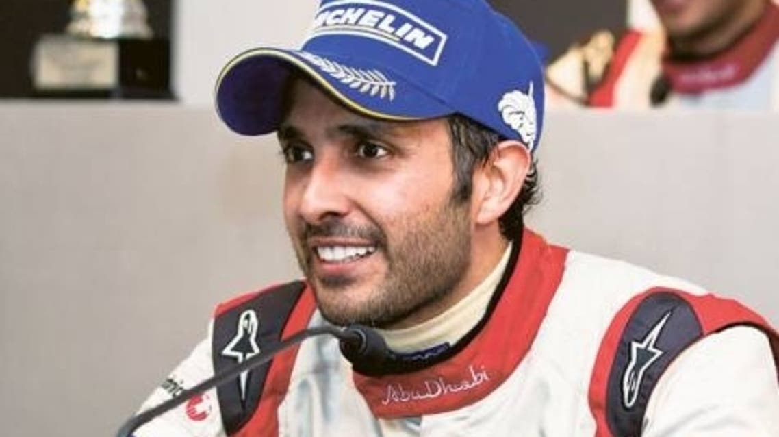 UAE's Khaled al-Qubaisi will become the Emirati to participate in the the legendary 24 Hours of Le Mans. (Photo courtesy of Gulf News)