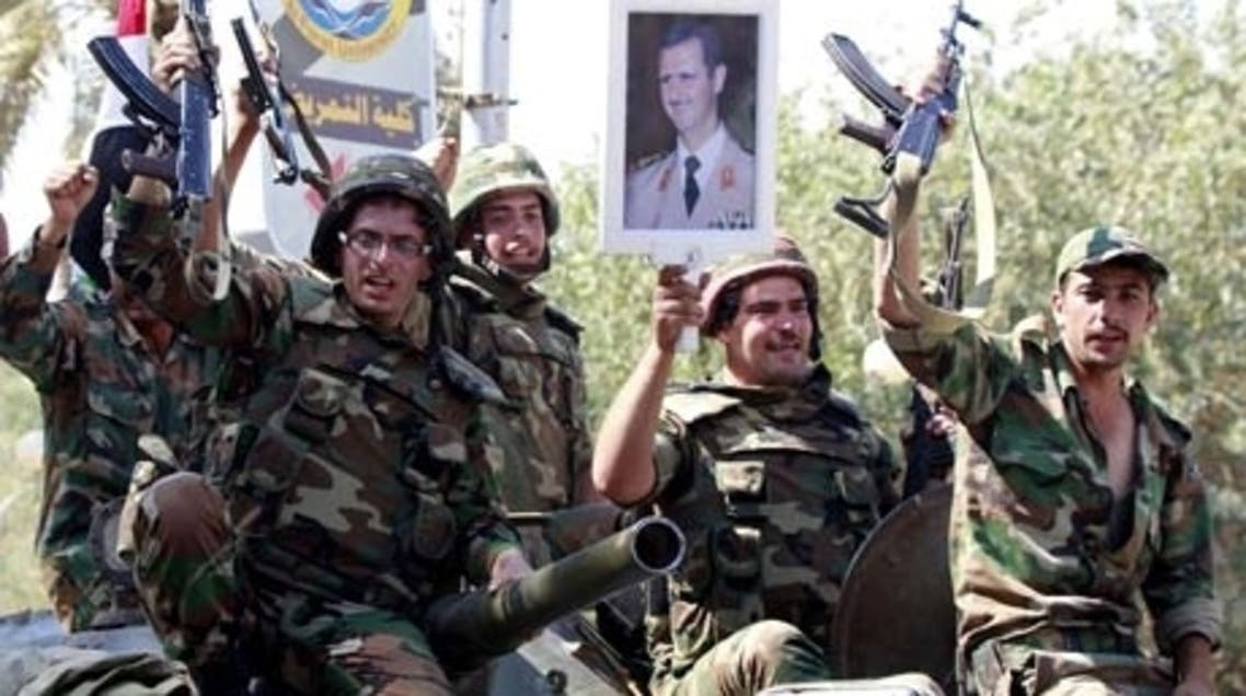 Syrian soldiers (AFP)