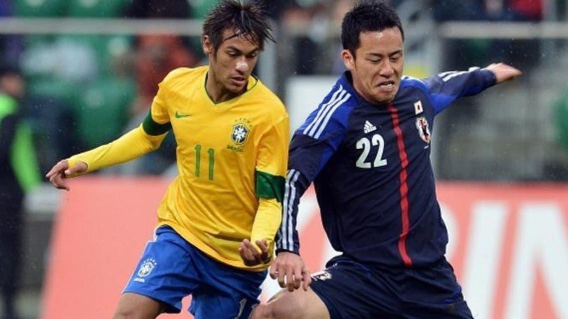 اليابان والبرازيل في افتتاح كأس القارات