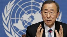 U.N. chief condemns Egypt violence, urges respect for rights