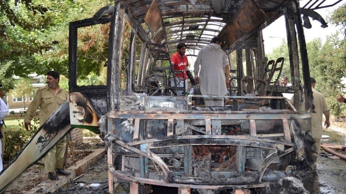 انفجار اتوبوس در کویته