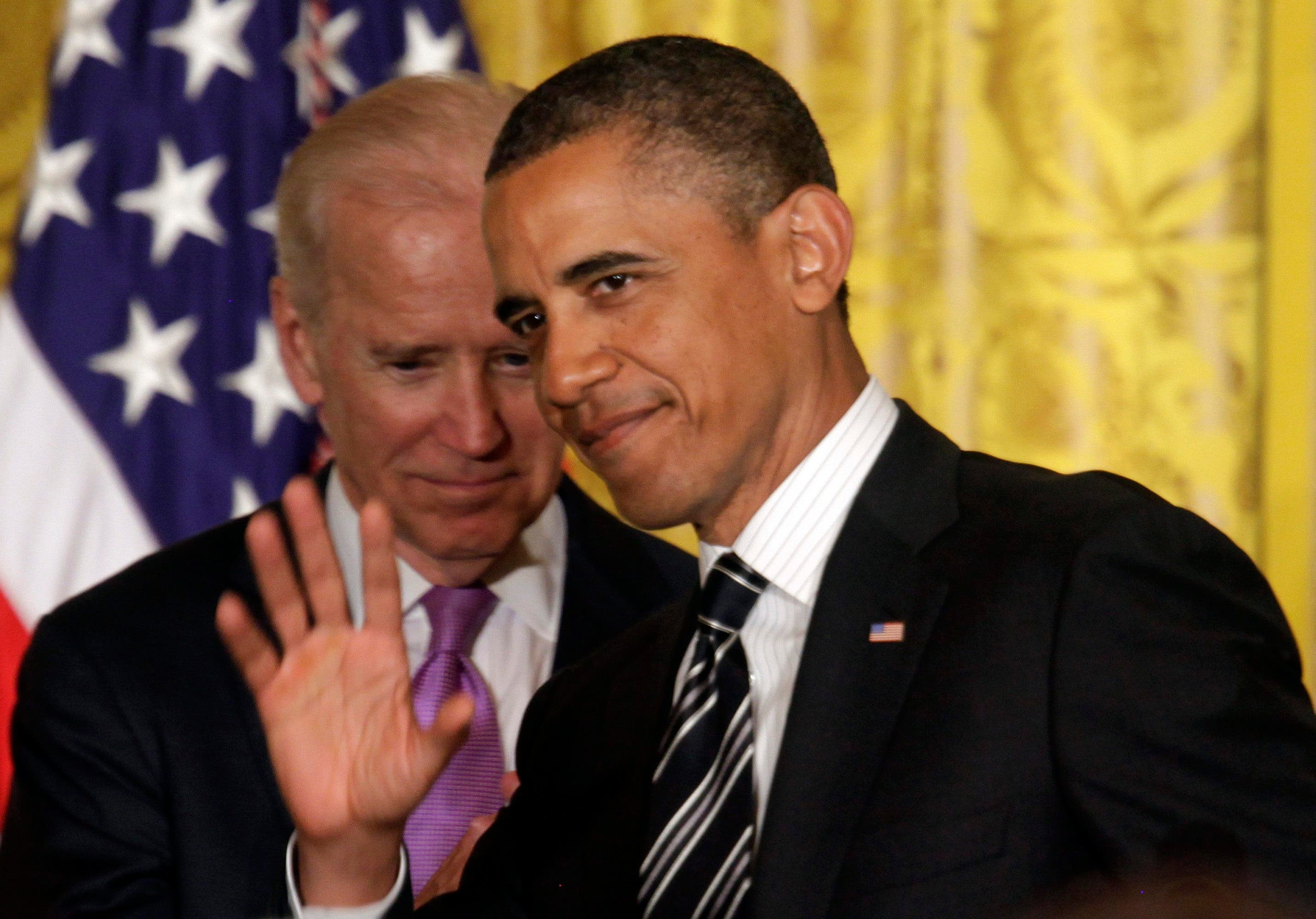 Barack Obama and Joe Biden. (File photo: Reuters)