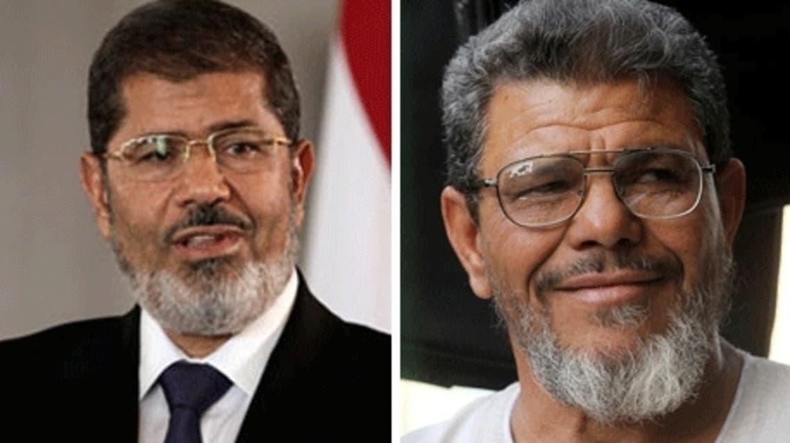 President Morsi (L) and his doppelganger (Photo: Al-Ahram)