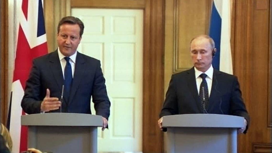 بوتين وكاميرون