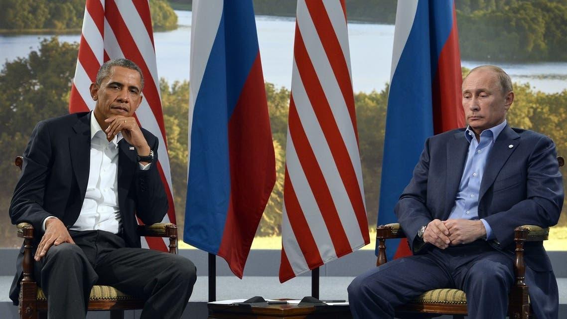 Obama+Putin+AFP
