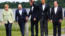G8 calls for Syria peace conference as soon as possible