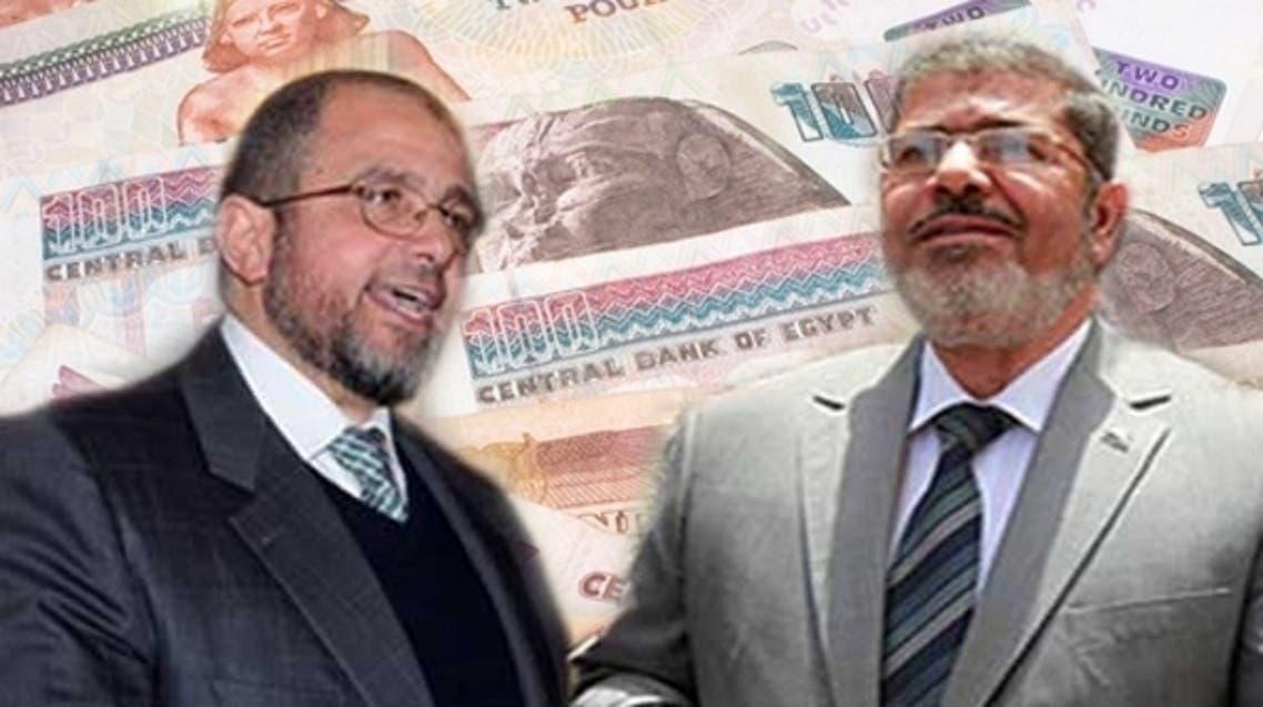 محمد مرسي وهشام قنديل