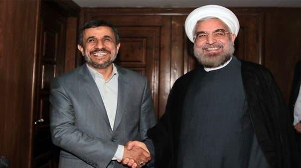 Ahmadinejad meets president-elect Rowhani in power transfer talks