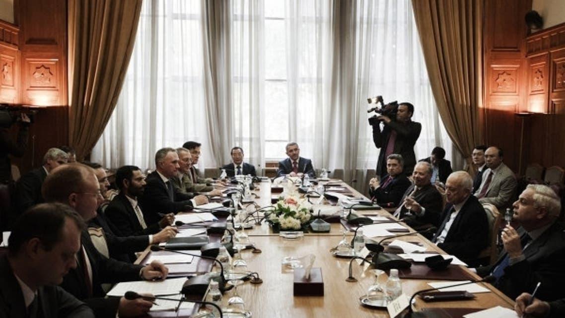 fridns of syria file photo afp