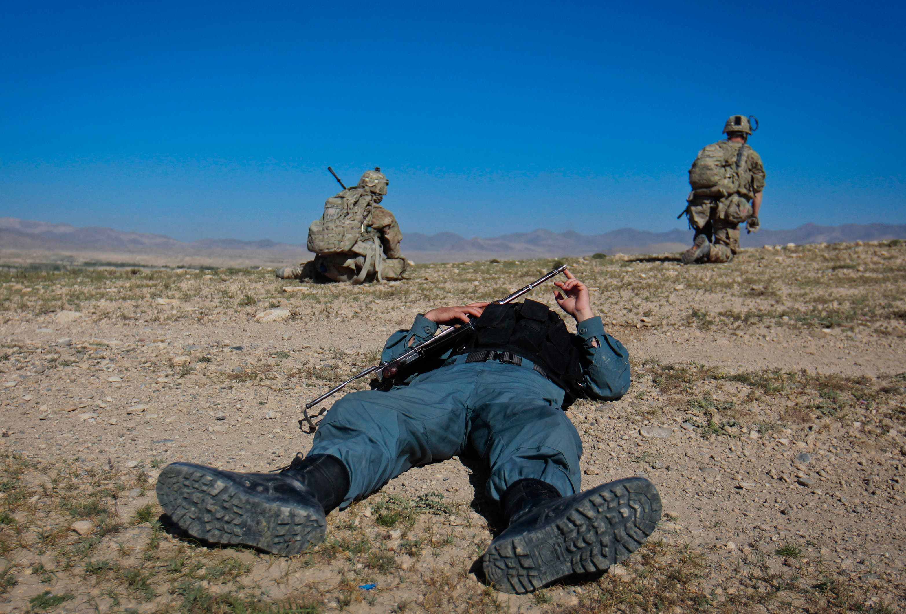 Afghan Forces Take Over Security From NATO