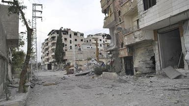 قتلى وحالات اختناق جراء قصف على ريف دمشق