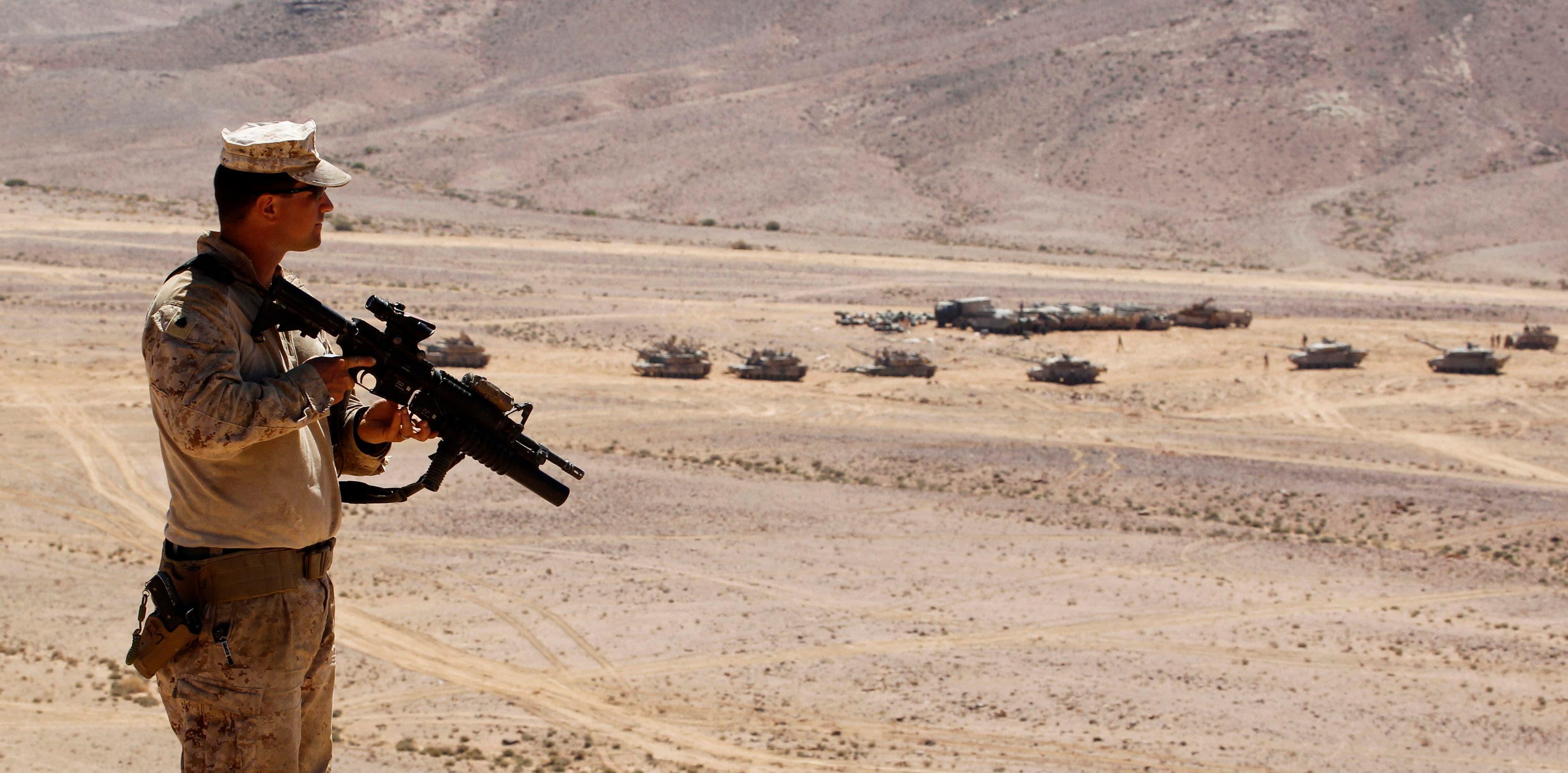 """Eager Lion"" in Jordan"