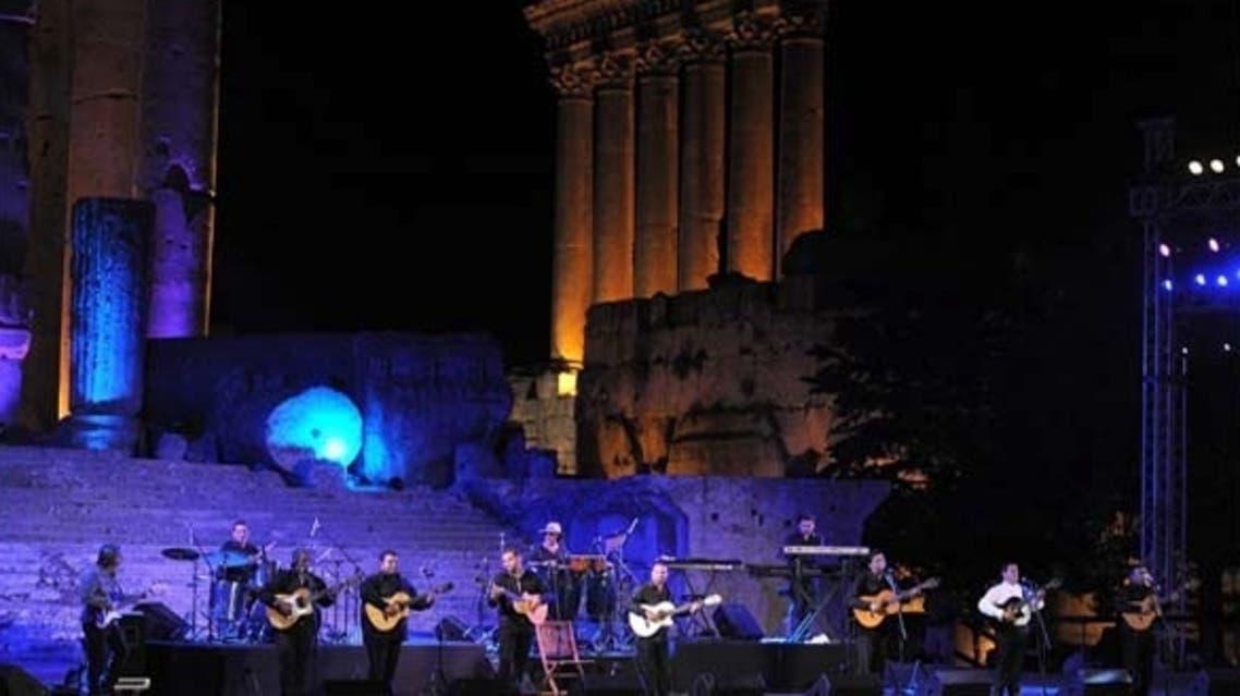 جانب من عروض مهرجان بعلبك 2012