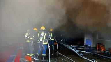 حريق جديد في أحد مستودعات جدة.. والدفاع المدني يستنفر