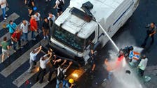 Police disperse Istanbul protesters with water cannon
