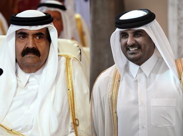 أمير قطر يعلن اليوم تنحيه لصالح نجله الشيخ تميم