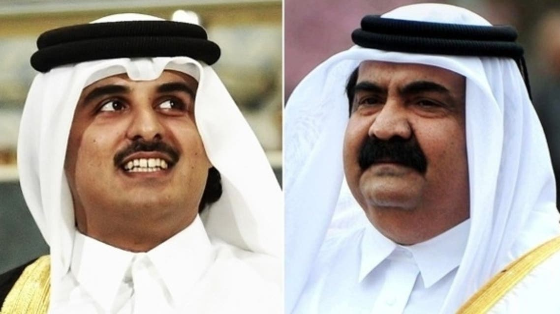amir of qatar and his crown prince