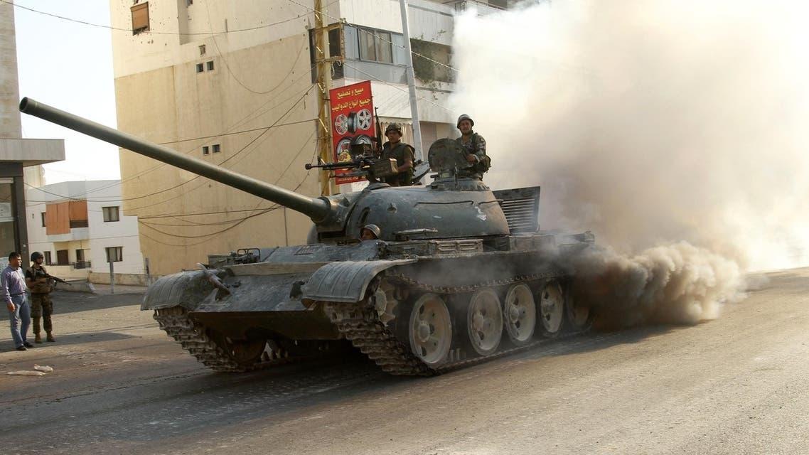 Sectarian clashes in Lebanon