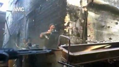 استهداف زملكا والقابون وبرزة بدمشق وريفها بالكيماوي