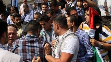 جماهير غفيرة تمنع وصول محمد عساف إلى منزله بغزة