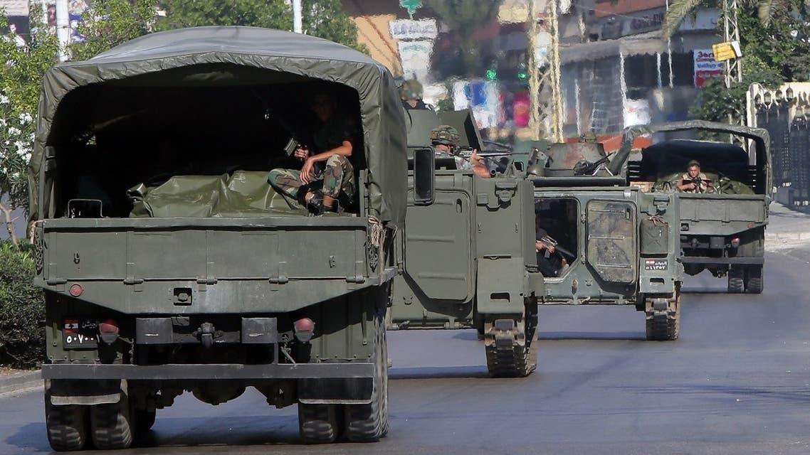 الجيش اللبناني في صيدا