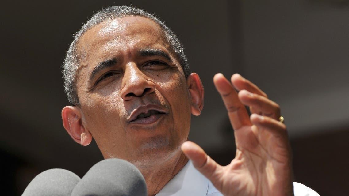 الرئيس الاميركي باراك اوباما