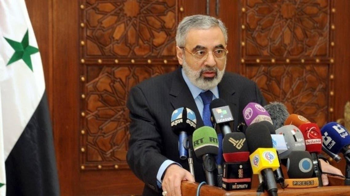 Syria info minister