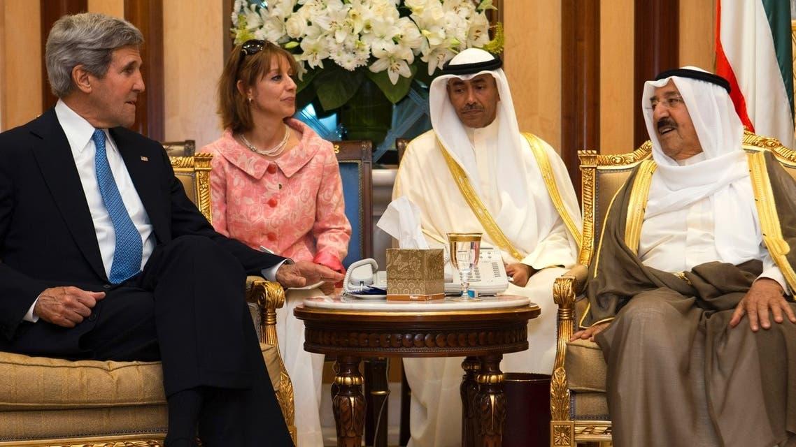 جون كيري في الكويت