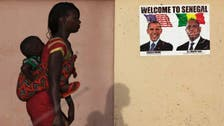 Obama embarks on trip to Africa, Mandela's health a question
