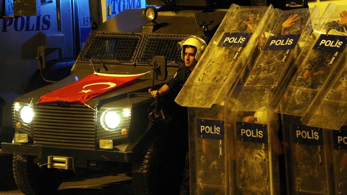 الشرطة التركية تفرق ألفي متظاهر