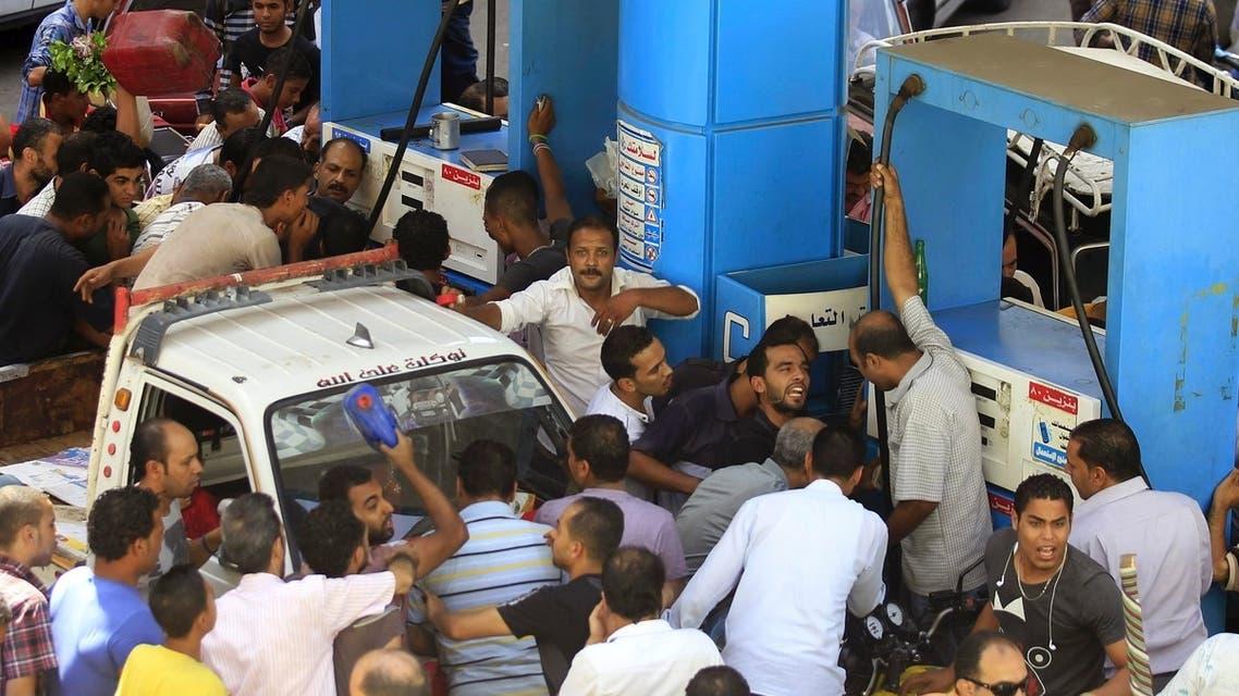 أزمة بنزين في القاهرة