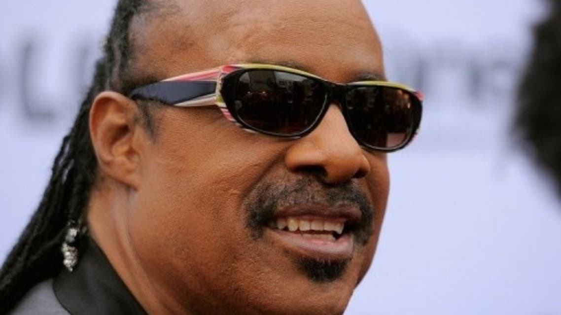 Blind musician Stevie Wonder pictured in June 2011 at Rock in Rio. (File photo: AFP)