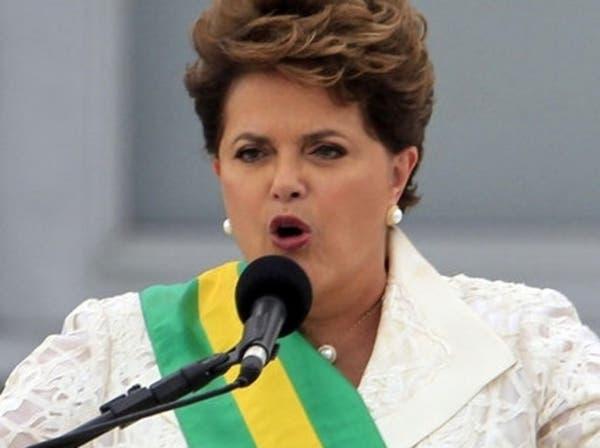 الاقتصاد يهوي بشعبية رئيسة البرازيل