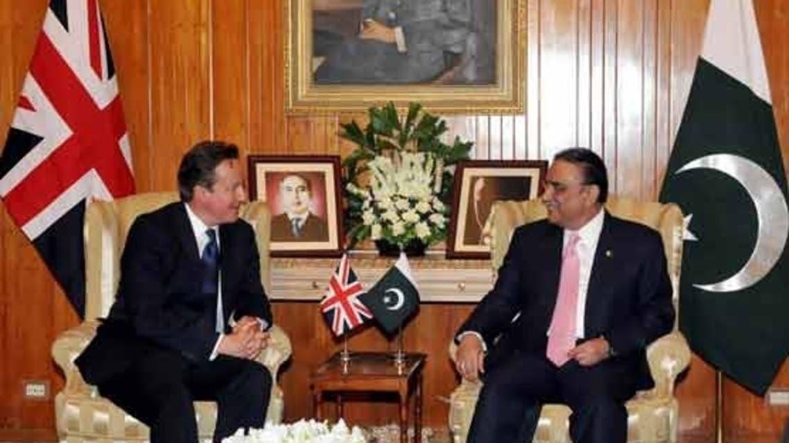 David Cameron + Pakistan President