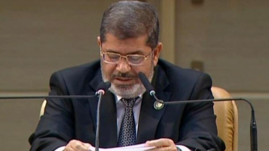 مرسي في خطاب سابق