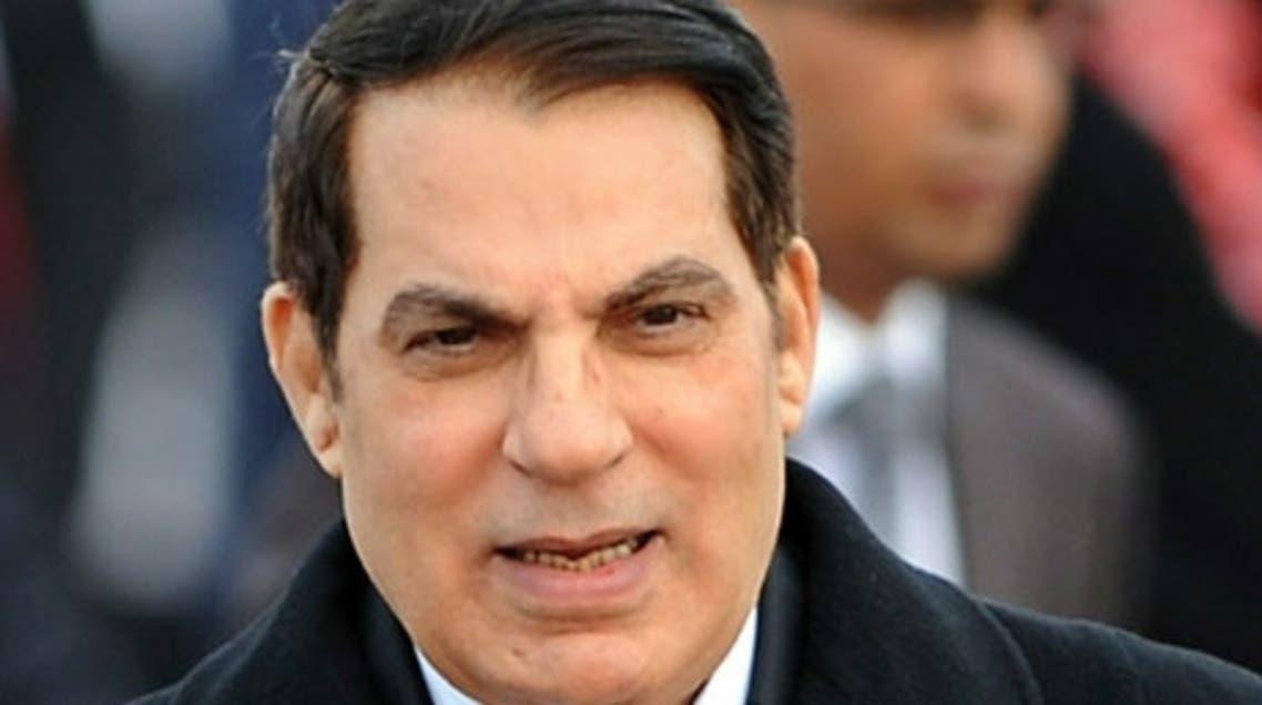 Zine El Abidine Ben Ali AFP