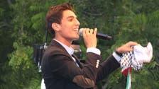 Refugee turned superstar: new 'Arab Idol' sings for Palestine